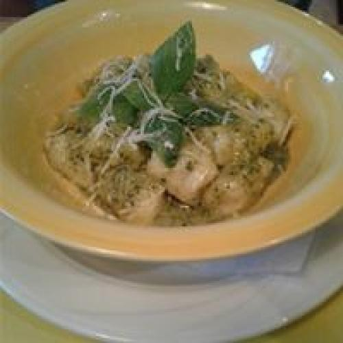 Hand Made Gnocchi with authentic Pesto sauce