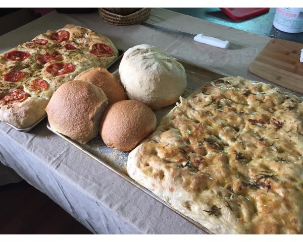 Bread and Focaccia